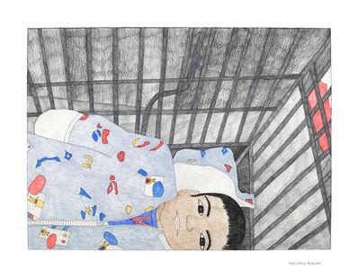 Kudluajuk Ashoona, 'Untitled (Baby Laying Down)', 2019