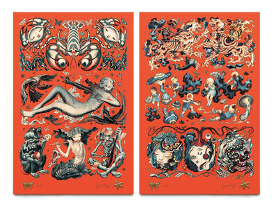 James Jean, 'FLASH SET', 2015
