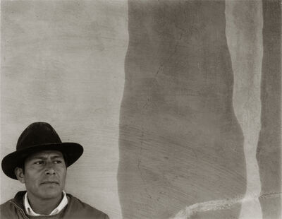 Danny Lyon, 'A Mexican Worker at Ezequel's House, Bernalillo, NM', 1973