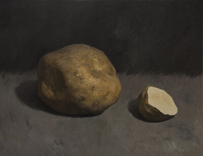 Yan Bing, 'Cutting Potatoes No.8', 2015