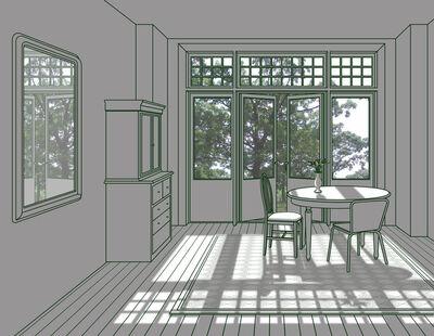 Seon Tae Hwang, 'The Sunshine Room', 2017