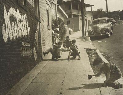 Joe Schwartz, 'East L.A. Skateboarders', 1950s