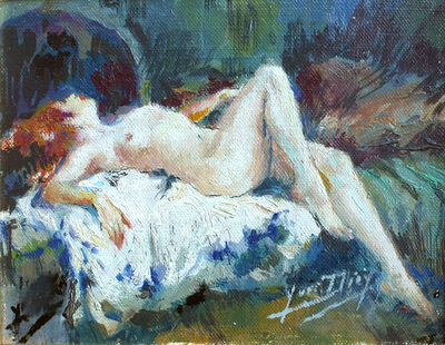 Yves Thiey, 'Recling Nude', 1920-1970