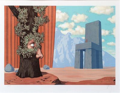René Magritte, 'Les Claires-Voies d'un Jeune Regard Embaument la Fête d'un Vieil Arbre...', 1968