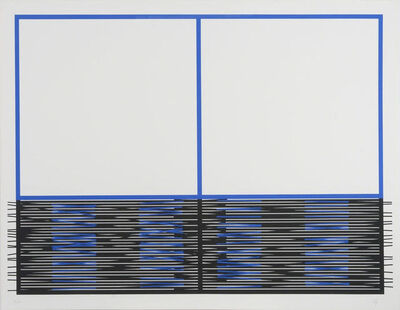 Jesús Rafael Soto, 'Vibration inférieure ', 1990