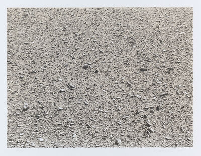 Vija Celmins, 'Untitled (Desert), from the portfolio Untitled', 1975