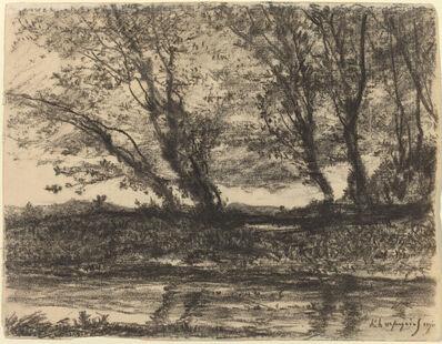 Henri-Joseph Harpignies, 'Landscape', 1911
