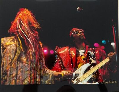 Nona Hatay, 'Color Rock & Roll Photo Hand Signed Woodstock Music Festival African American ', 20th Century