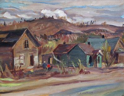 A. Y. Jackson, 'STREET IN KIRKLAND LAKE', 1951