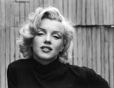 Alfred Eisenstaedt, 'Marilyn Monroe (Black Sweater Landscape)', 1953
