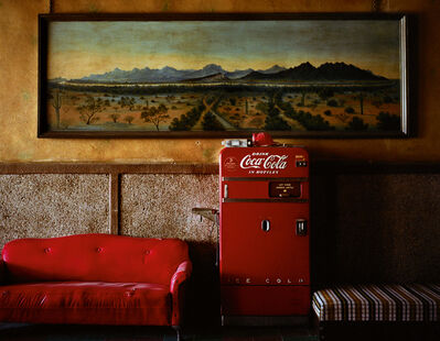 Wim Wenders, 'Lounge Painting #1, Gila Bend, Arizona', 1983