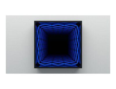 Iván Navarro, 'Diamond (Blue)', 2019
