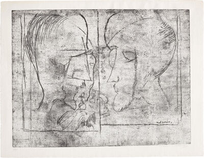 Marcel Duchamp, 'The Chess Players', 1965
