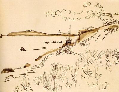 Ernst Ludwig Kirchner, 'Küstenlandschaft', 1913
