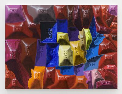 Royal Jarmon, 'Red Flower', 2020