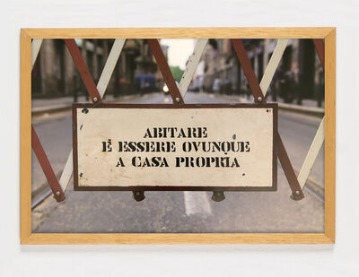 Ugo La Pietra, 'Abitare è essere ovunque a casa propria', 2019