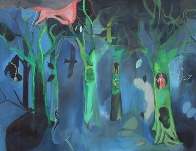 Yoav Hirsch, 'Five Trees', 2014