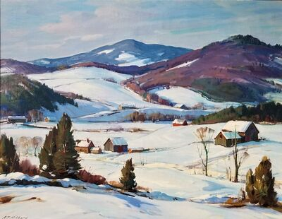Aldro Thompson Hibbard, 'Vermont Winter', 1930