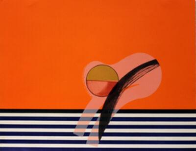 Howard Hodgkin, 'Girl on a Sofa', 1968