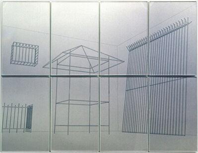 Raul Mourão, 'Área de queda II', 2002