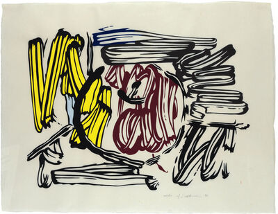 Roy Lichtenstein, 'Red & Yellow Apple', 1983