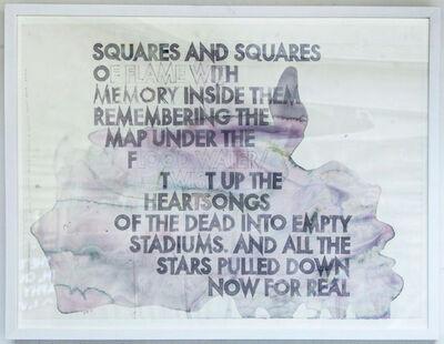 Robert Montgomery, 'Poem for Ezra Pound and Kurt Cobain ', 2015