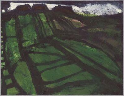 Hughie O'Donoghue, 'Verdant field II', 2012
