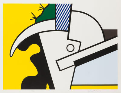 Roy Lichtenstein, 'Bull Head II', 1973
