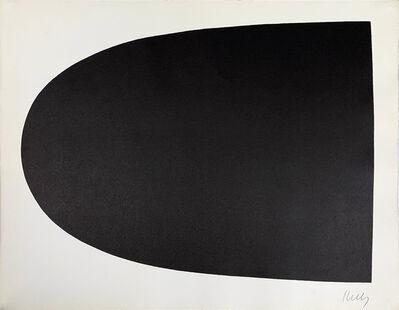Ellsworth Kelly, 'Black Curve from Portfoli', 1967