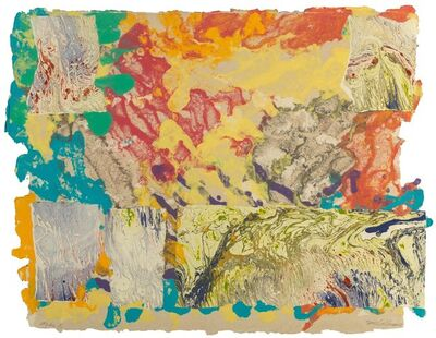 Sam Gilliam, 'Mibs #5', 1977