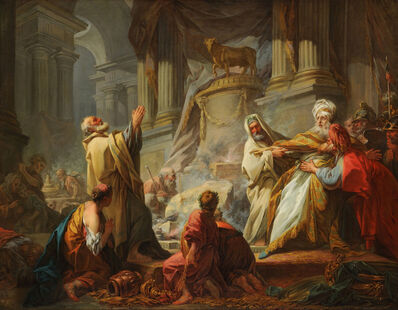Jean-Honoré Fragonard, 'Jeroboam Sacrificing to the Idols ', 1752