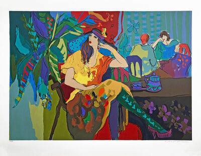 Isaac Maimon, 'TABLE FOR ONE', 1991