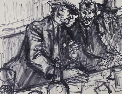Norman Cornish, 'Men at bar 2', C 1965