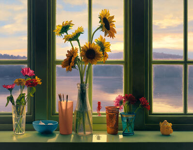Scott Prior, 'Window on the Lake', 2019