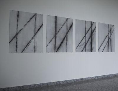 Serena Amrein, 'vier linien 1 bis 5, 5tlg.', 2013
