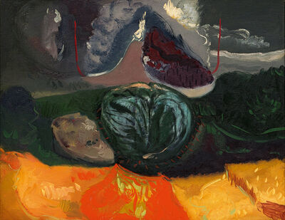 Maurice Cockrill, 'Landscape with Bold Cloud', 1989