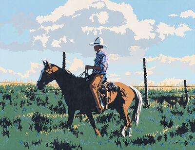 Billy Schenck, 'Lonesome Sagebrush', 1982