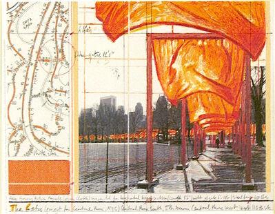 Christo, 'The Gates (a)', 2004
