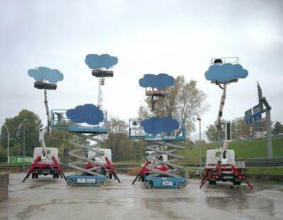 Olaf Breuning, 'Clouds', 2008