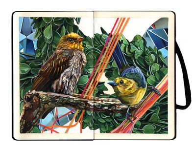 Juan Travieso, 'Endangered Birds #180a', 2019