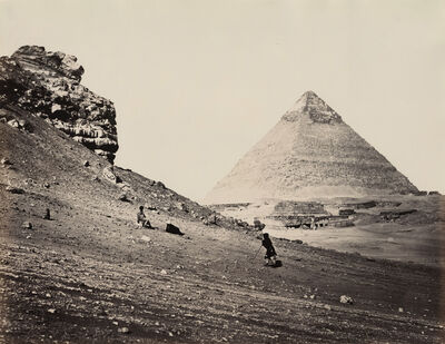 Francis Frith, 'The Second Pyramid from the Southeast, Egypt', 1858