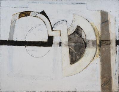Paul Feiler, 'Intersecting Forms Grey', 1966
