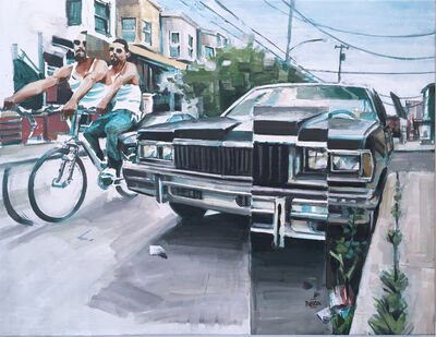 RU8ICON1, 'East Ontario and Tampa Street', 2019
