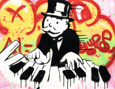 Alec Monopoly, 'Piano Player', 2011