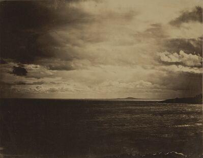 Gustave Le Gray, 'Ciel Chargé - Mer Méditerranée (Cloudy Sky, Mediterranean Sea)', 1857
