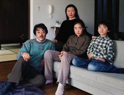 Thomas Struth, 'The Okutsu Family in Western Room, Yamaguchi 1996', 1996