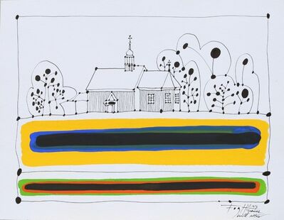 Andrzej Fogtt, 'Church in Zaborek', 2014