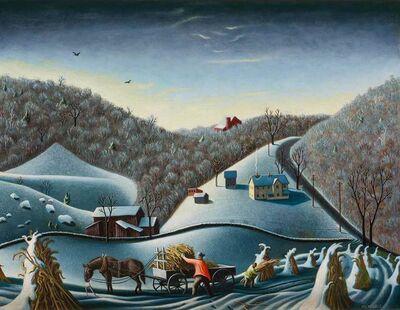 Roger Medearis, 'Loading Fodder', 1947-48