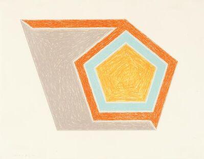 Frank Stella, 'Ossipee', 1974