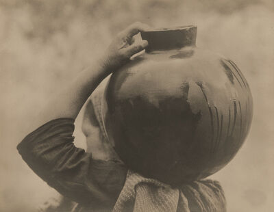 Tina Modotti, 'Woman Carrying Olla', 1926